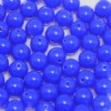 Beads, Acrylic, Dark blue, Spherical, Diameter 8mm, NA, 10g, 30 Beads, (slz0092)